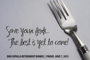 Don Supalla Retirement Dinner