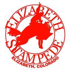 Elizabeth Stampede Rodeo logo
