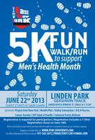 Men's Health 5K fun walk/run