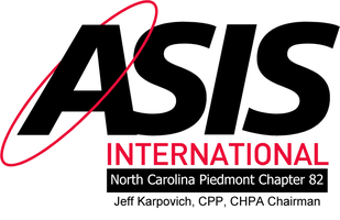 ASIS NC Piedmont Chapter (82) August Lunch & Learn