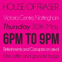 House of Fraser Fashion Show