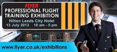 Professional Flight Training Exhibition Leeds 2013