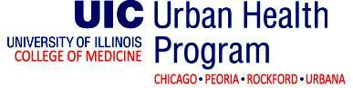 2015 UIC COM Urban Health Program M1 Welcome/...
