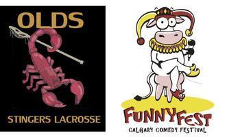 OLDS LACROSSE FunnyFest COMEDY Fundraiser