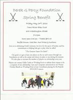 Derek G Percy Foundation Spring Fundraiser