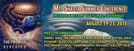 MT. Shasta Summer Conference 2015 Inter Planetary...