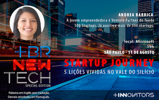 [BRNewTech SÃO PAULO] Startup Journey - 5 Lições...