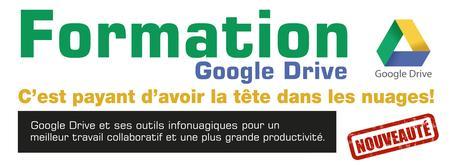 Formation Google Drive et ses outils infonuagiques...