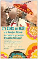 Cinco De Gato!  Cinco de Mayo Party to benefit Kitt...