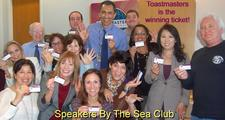 Toastmasters Speakers By The Sea Club logo
