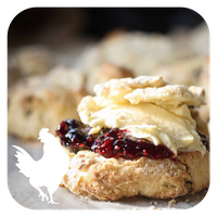 Scones and Jam - Orchard Fruits