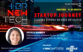 [BRNewTech CURITIBA] Startup Journey - 5 Lições...