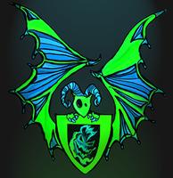 Bat Creature Mask 7-11yrs
