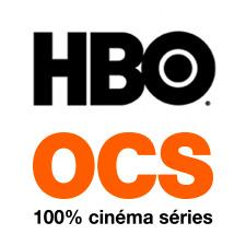 HBO et OCS, le bouquet 100% cinéma séries logo