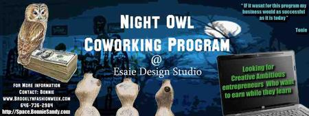 Night OWL OPEN COWORK SESSIONS