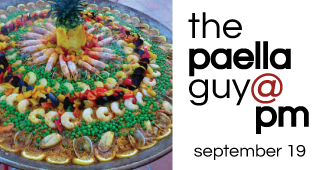 The Paella Guy at Pech Merle