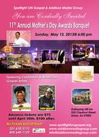 11th Annual Mother's Day Awards Banquet