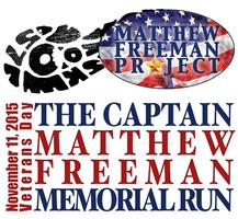 CAPT MATTHEW FREEMAN Memorial Run 5K 2015
