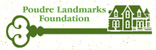 Poudre Landmarks Foundation  logo