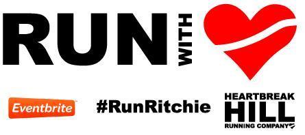 Run with Heart - Marathon Monday cheering section...