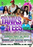 TANK'S & TEE'S BOWLING PARTY