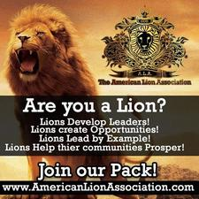 The American Lion Association logo