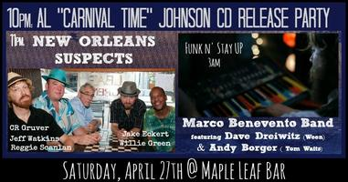 """MLB: Al """"Carnival Time"""" Johnson, New Orleans Suspects,..."""