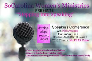 Stepping Into Speaking Conference
