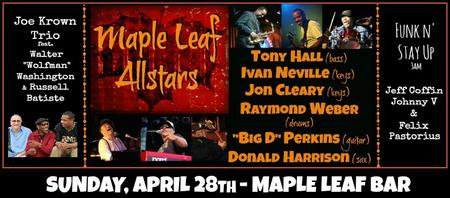 MLB Allstars: Ivan Neville, Jon Cleary, Tony Hall &...