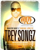 Trey Songz Industry Thursday @ HAZE Nightclub