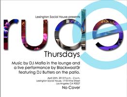 Lexington Social House Presents Rude Thursdays