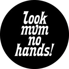 Look mum no hands! logo