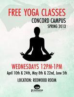 Yoga at Concord