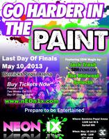 Paint the Clouds 2013 Neon1x Paint Party @ Bernicks...