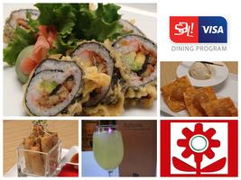 Visa Dining Program @ Ikebana Guaynabo