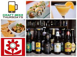 Craft Beer Thursdays! @ Ikebana Carolina