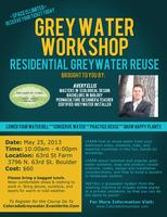 Greywater Installers Workshop