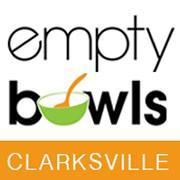 Empty Bowls Clarksville logo