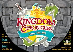Day Camp 2013: Kingdom Chronicles