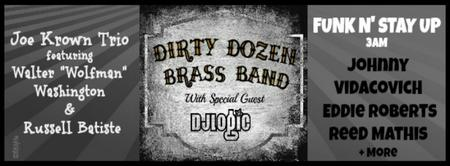 Dirty Dozen Brass Band w/DJ Logic, Eddie Roberts, Reed...