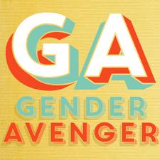 Gina Glantz, GenderAvenger Founder logo