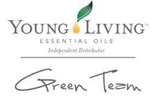 Young Living Essential Oils 'Green Team' logo