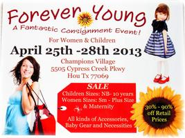 Consignment Event Forever Young