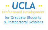 UCLA Professional Development for Graduate Students and Postdoctoral Scholars logo