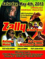 Live Reggae on the Beach - Zally and Anthony Malvo