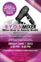 B. Y. O. B. {Blowdryer or Beauty Brush}
