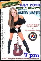 Ashley Martin Benefit Concert for Wright Patterson AFB...