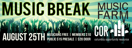 COR presents Music Break! Featuring The Dirty Dozen...