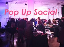 Pop Up Social NY + Laura Little Curated logo