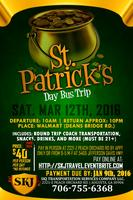 3rd Annual St Patrick's Day Bus Trip